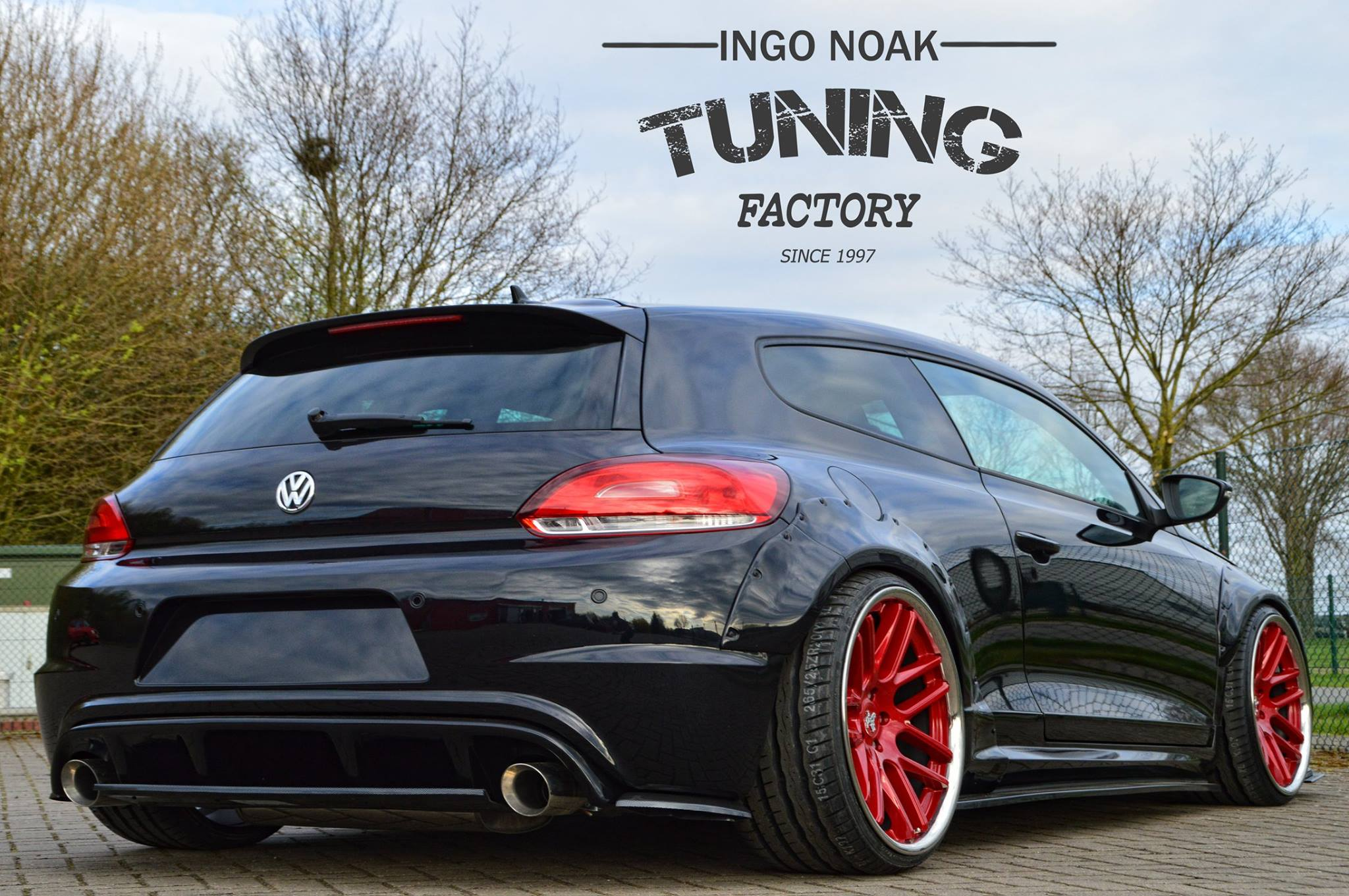 rocket bunny vw scirocco by ingo noak tuning