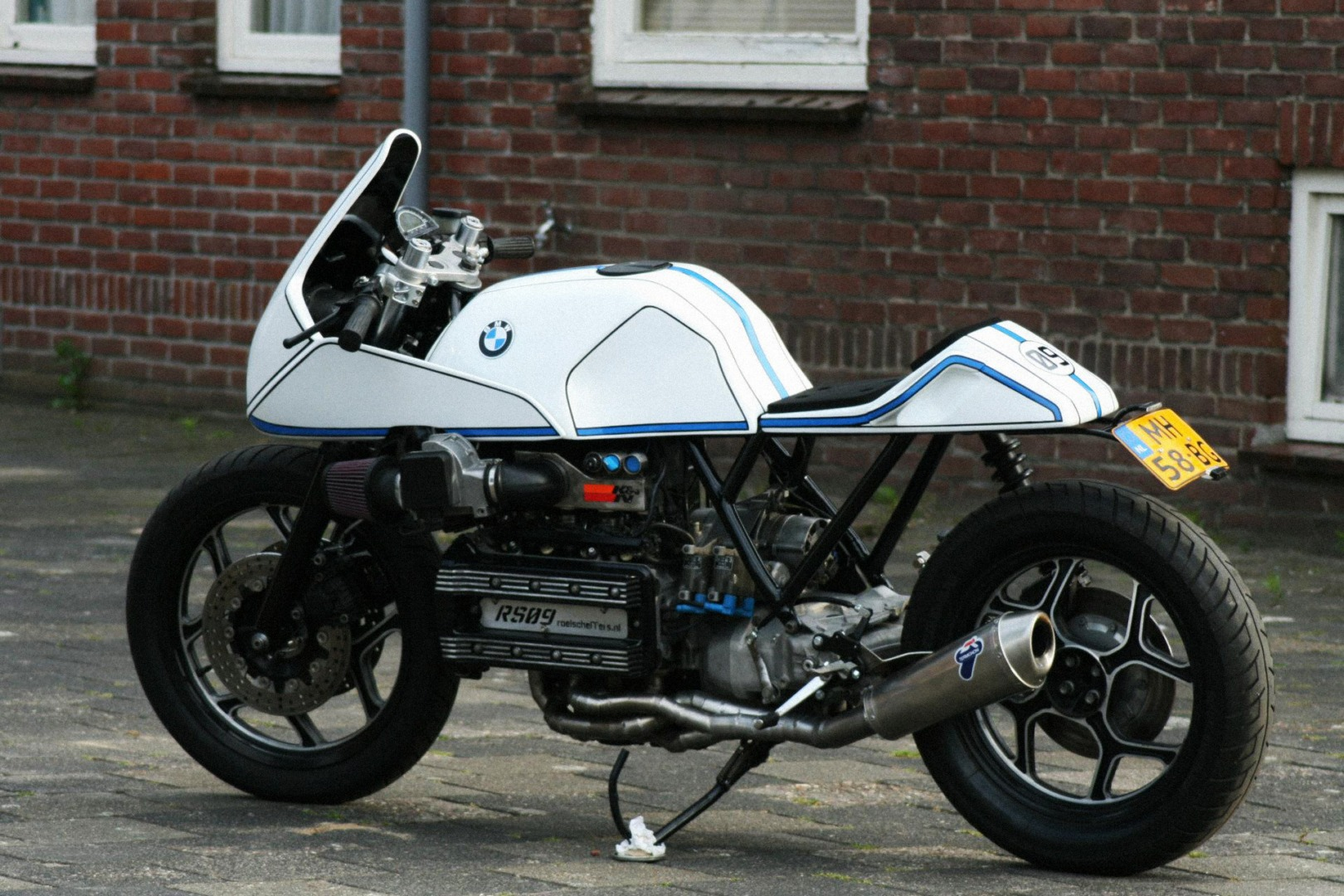 Roel Scheffers' Custom BMW K100RS, New Racing Life for Old ...