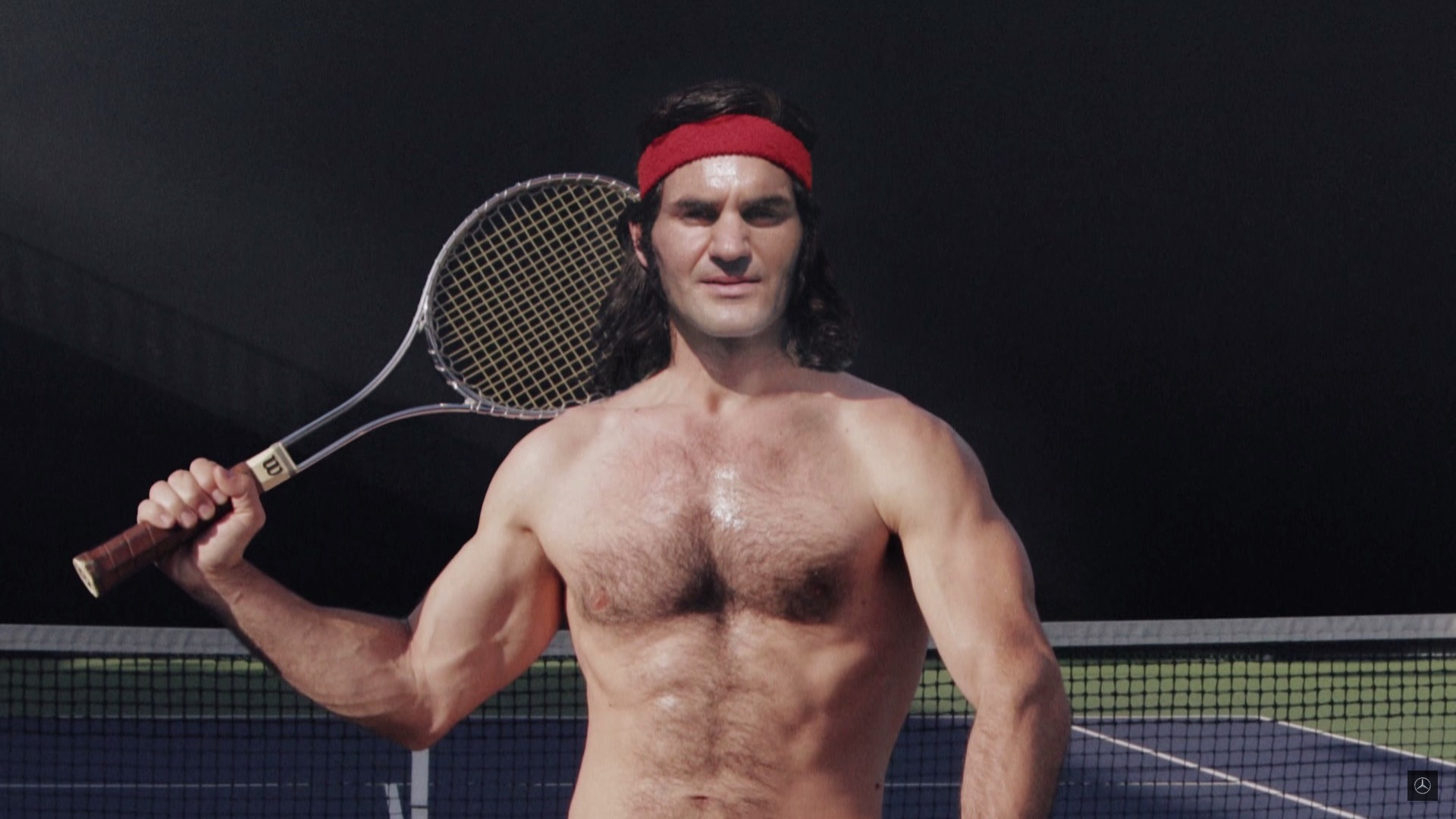 Roger Federer Endorses 2017 Mercedes Benz Sl In Weird Commercial Ad Autoevolution