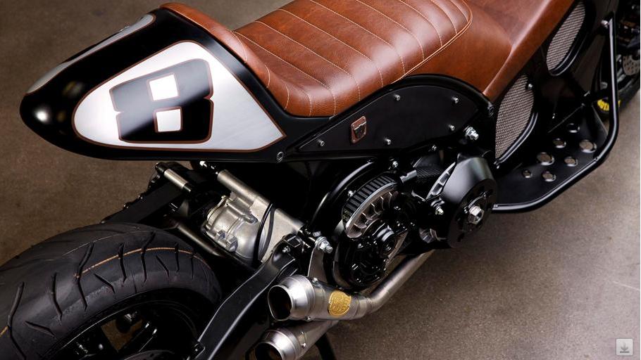 Roland Sands Custom Yamaha T Max