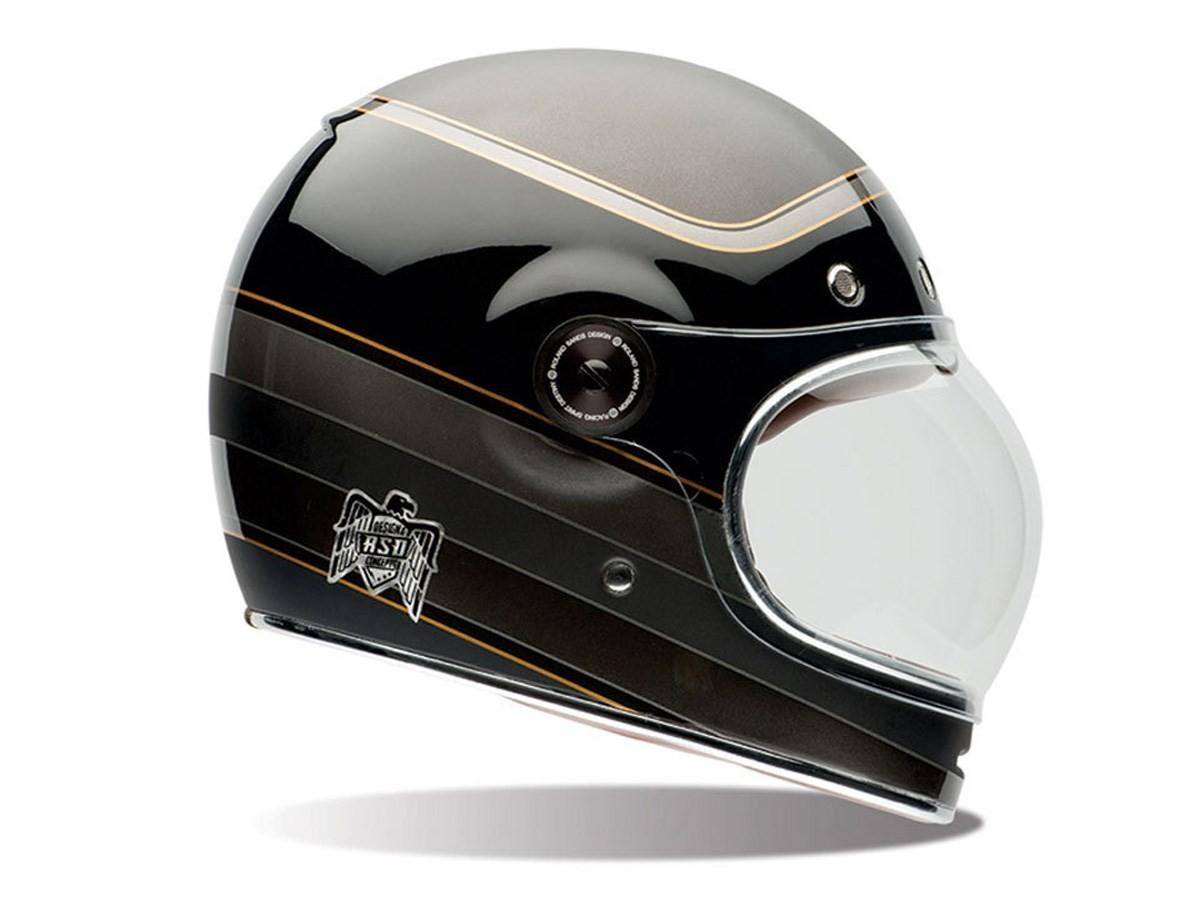 Roland Sands Bell Bullitt Carbon Helmet Blends Old School