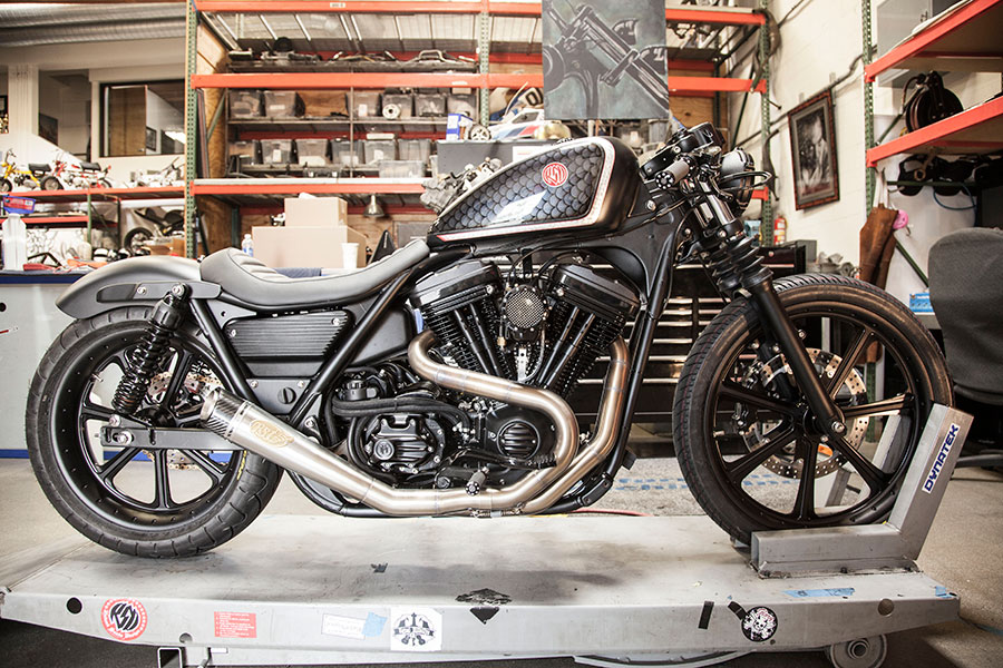 Roland Sands Gives Star Treatment To Old Harley Fxlr