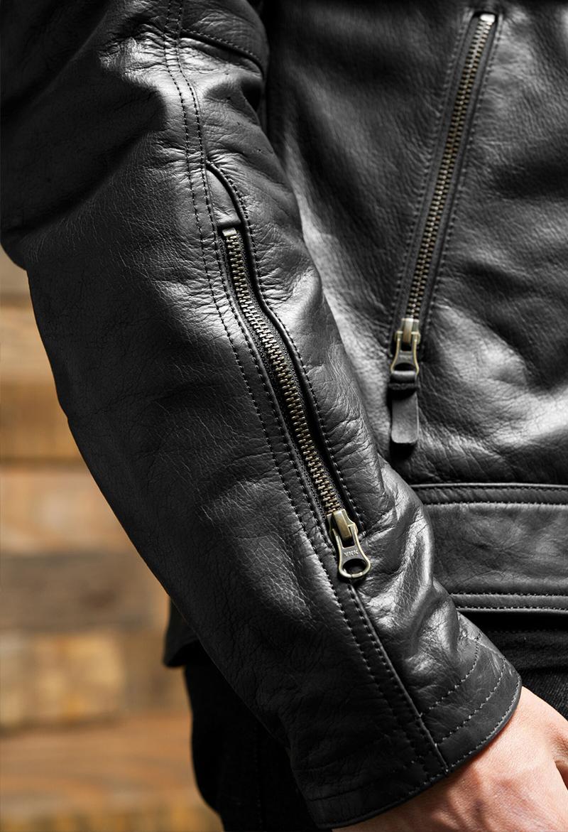 Leather Harley Jacket