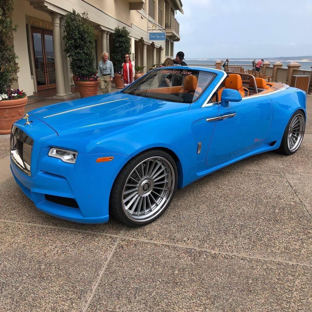 Rolls-Royce Dawn Tuned by Novitec Looks Crazy in Blue ...
