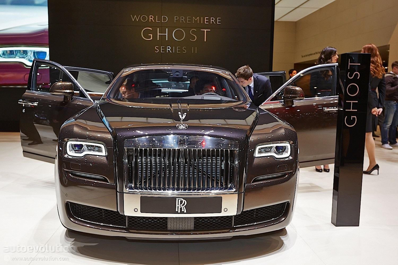Rolls Royce Ghost Series II Refines Luxury In Geneva Live