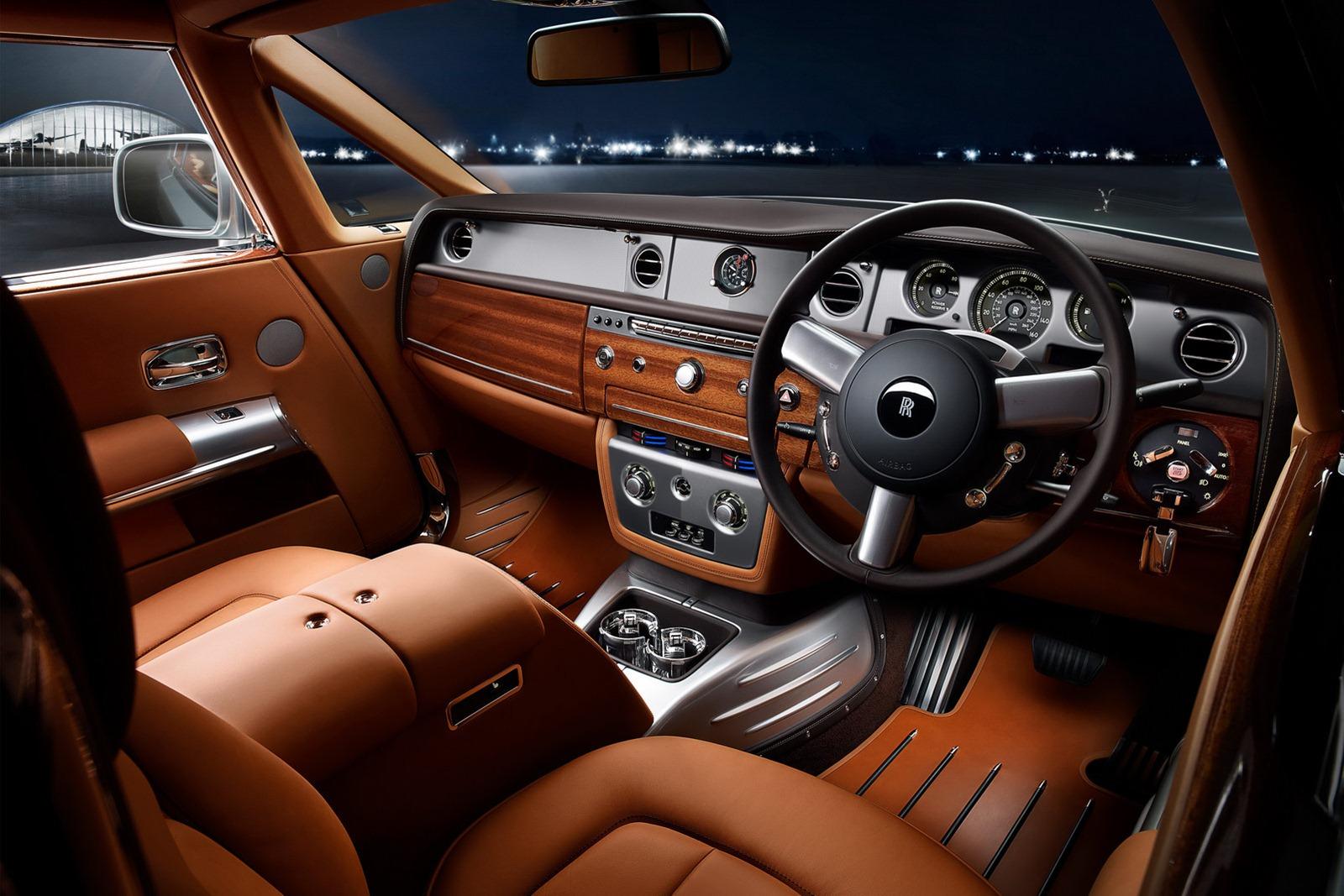 Rolls Royce Phantom Coupe Aviation Edition - autoevolution