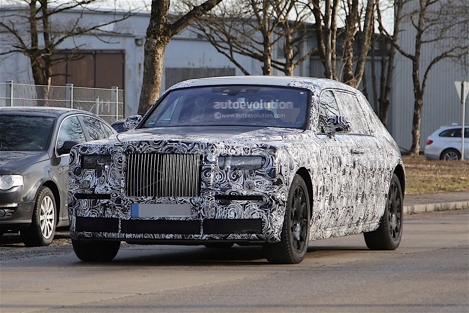 2018 rolls royce phantom. simple phantom 2018 rollsroyce phantom prototype  in rolls royce phantom