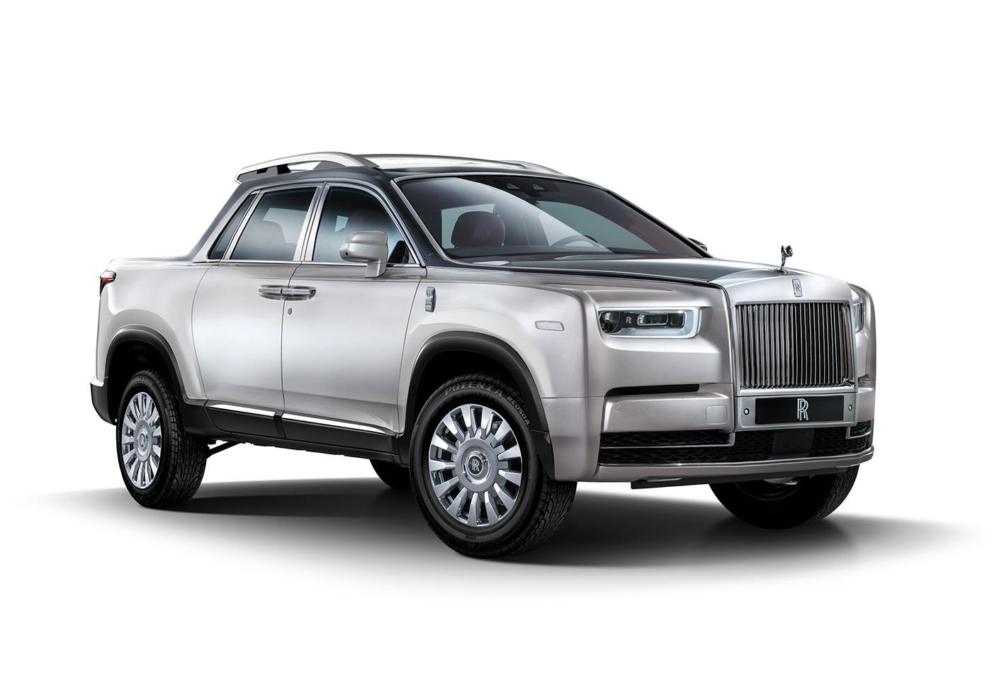 Rolls Royce Pickup Truck Rendering Is One Utilitarian