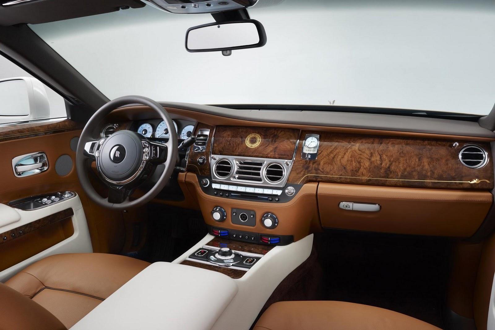 Rolls Royce Reveals Ghost Chengdu Golden Sun Bird One Off