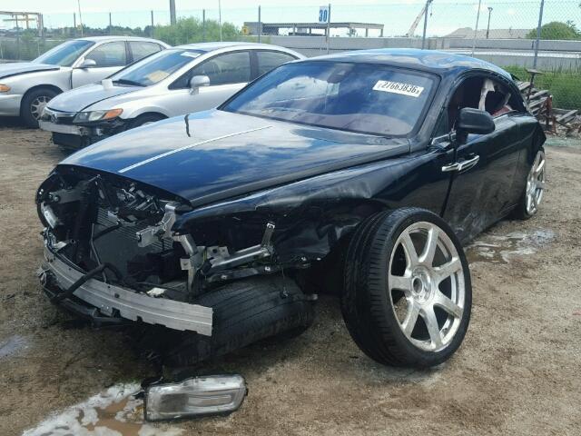 Rolls-Royce Wraith Demolished in Brutal Crash Up for Grabs