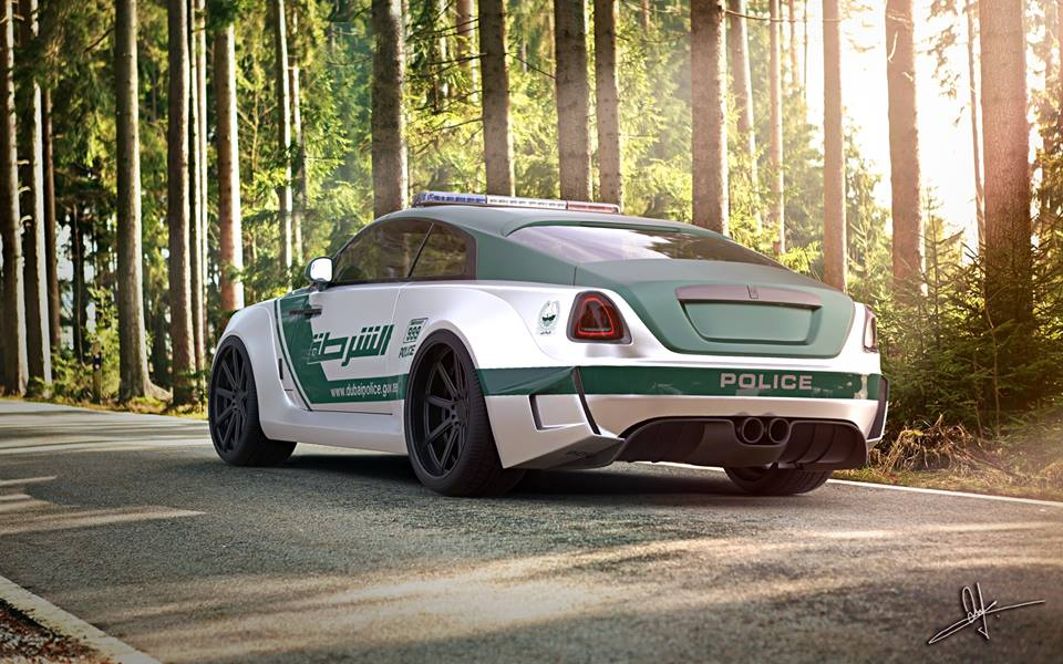 Dubai Police Officer Spotted In Bugatti Veyron Autoevolution