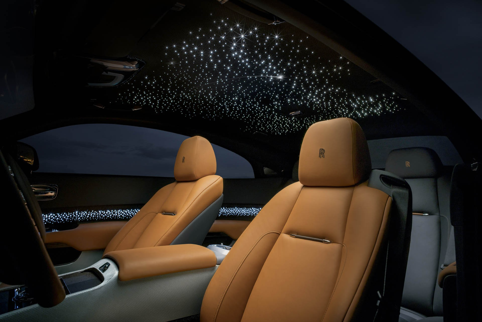 rolls royce wraith luminary collection introduced with shooting star headliner autoevolution. Black Bedroom Furniture Sets. Home Design Ideas