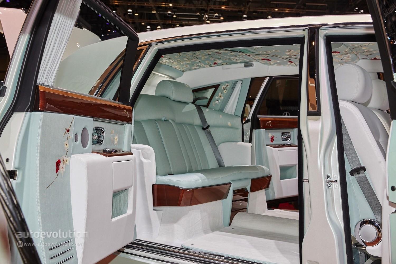 Rolls-Royce's Phantom Serenity Showed Us what Bespoke ...