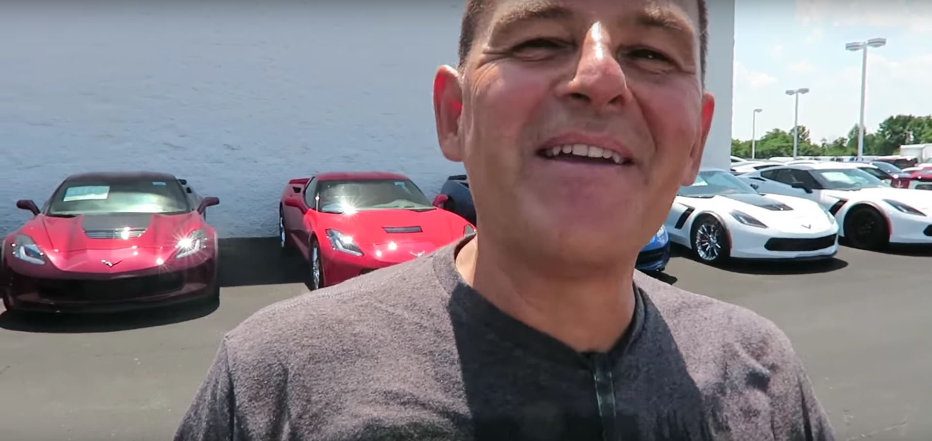 Roman Atwood Buys A Corvette Z06 For His Father S Birthday