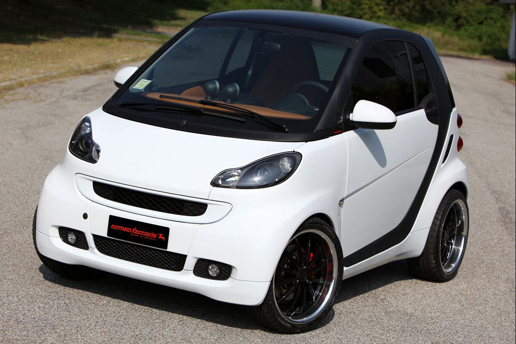 romeo ferraris smart fortwo released autoevolution. Black Bedroom Furniture Sets. Home Design Ideas
