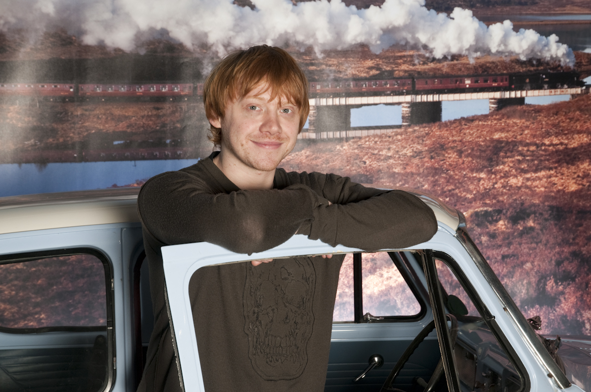 Nissan Of Easley >> Ron Weasley Visits the Flying Ford Anglia in Beaulieu ...