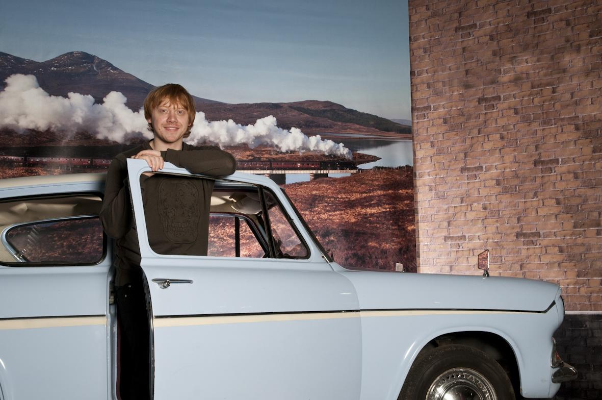 Harry Potter S Stolen Flying Car