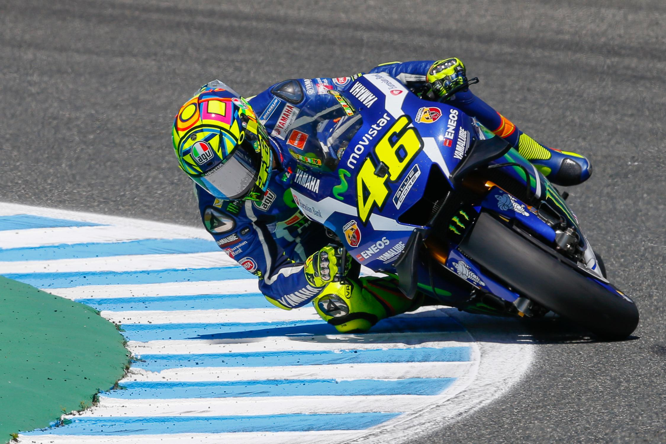 rossi dominates at jerez dovizioso unlucky for the third time autoevolution. Black Bedroom Furniture Sets. Home Design Ideas