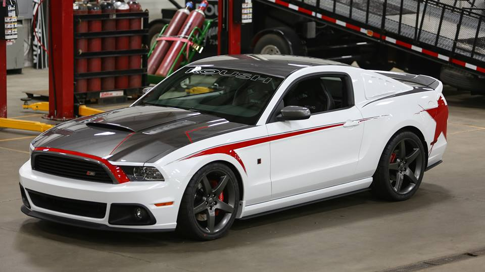 roush showcases custom 2014 stage 3 mustang autoevolution. Black Bedroom Furniture Sets. Home Design Ideas
