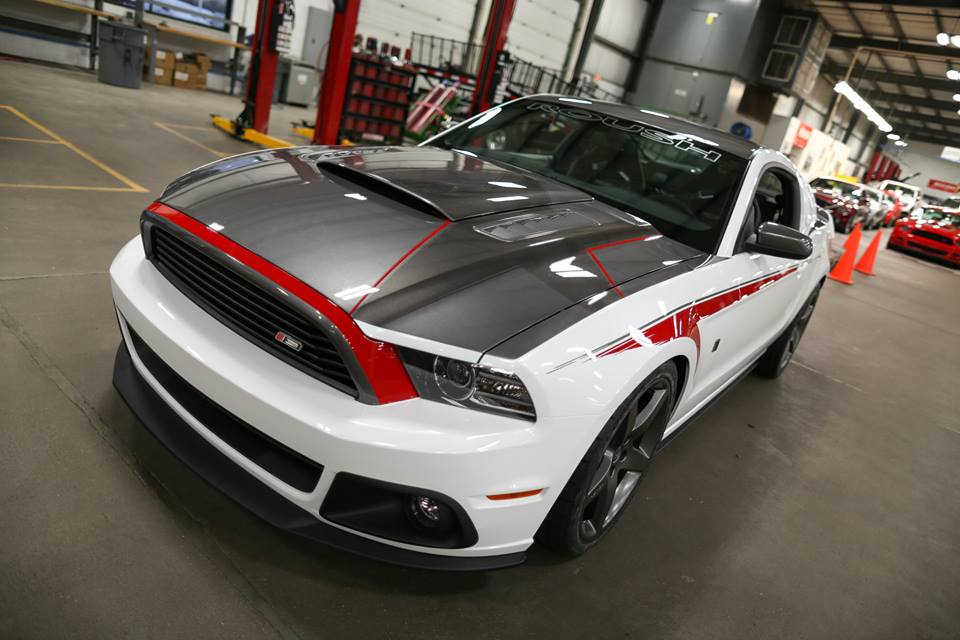 Roush Showcases Custom 2014 Stage 3 Mustang Autoevolution