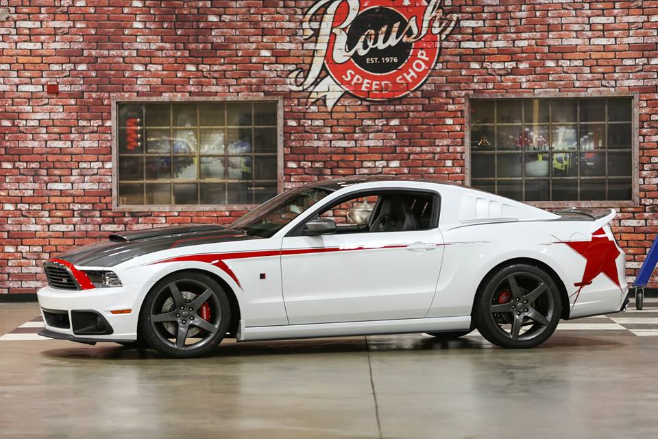 Roush Stage 3 >> Roush Showcases Custom 2014 Stage 3 Mustang - autoevolution