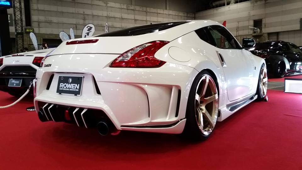 rowen body kit for nissan 370z is filled with jdm goodness. Black Bedroom Furniture Sets. Home Design Ideas