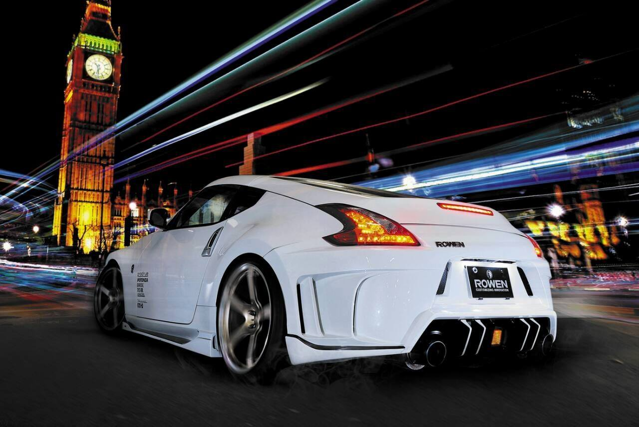 Rowen Body Kit for Nissan 370Z Is Filled with JDM Goodness ...