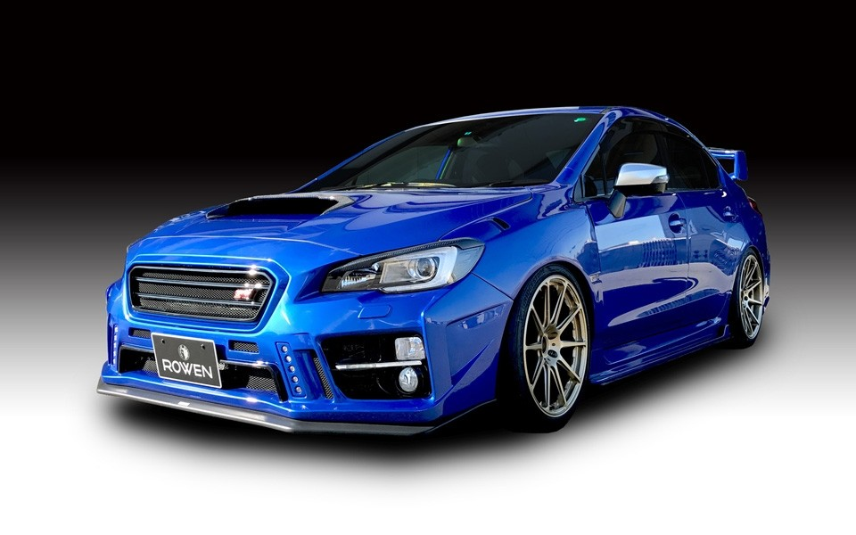 rowen subaru wrx sti is a rallying light show autoevolution. Black Bedroom Furniture Sets. Home Design Ideas