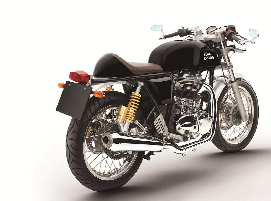 Royal Enfield Continental Gt Now Available In Black Too on Red Bentley Continental Gt