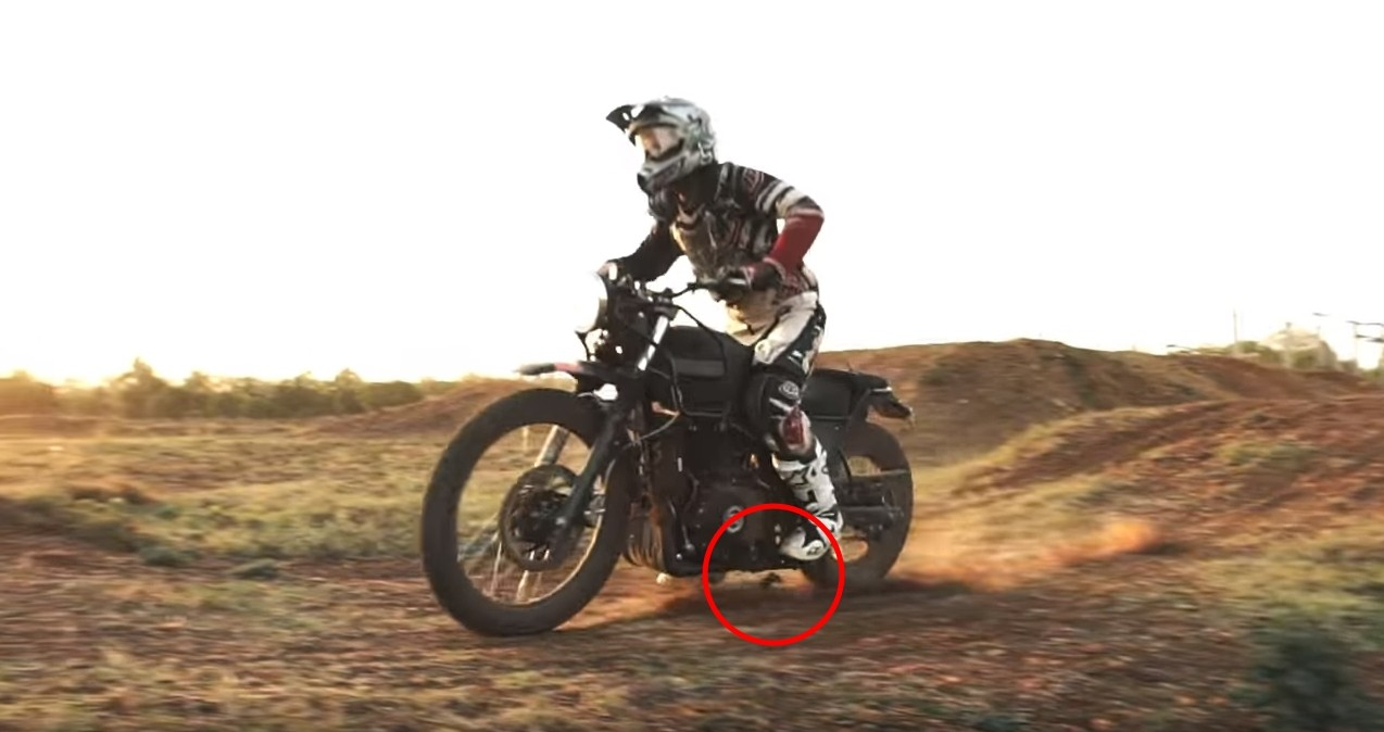 Royal Enfield Himalayan Peg Breaks Off In Official Teaser