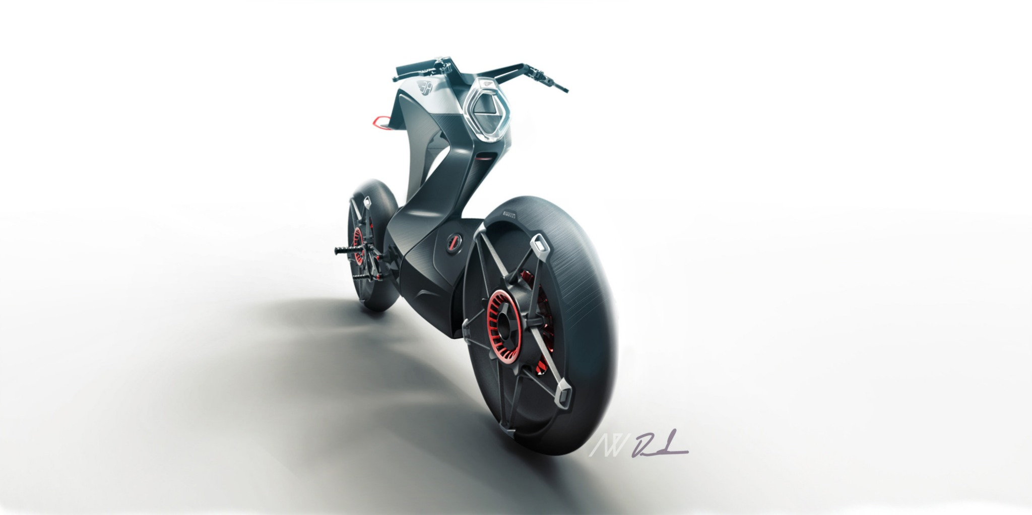 Royal Enfield Pioneer Electric Concept By Daniel