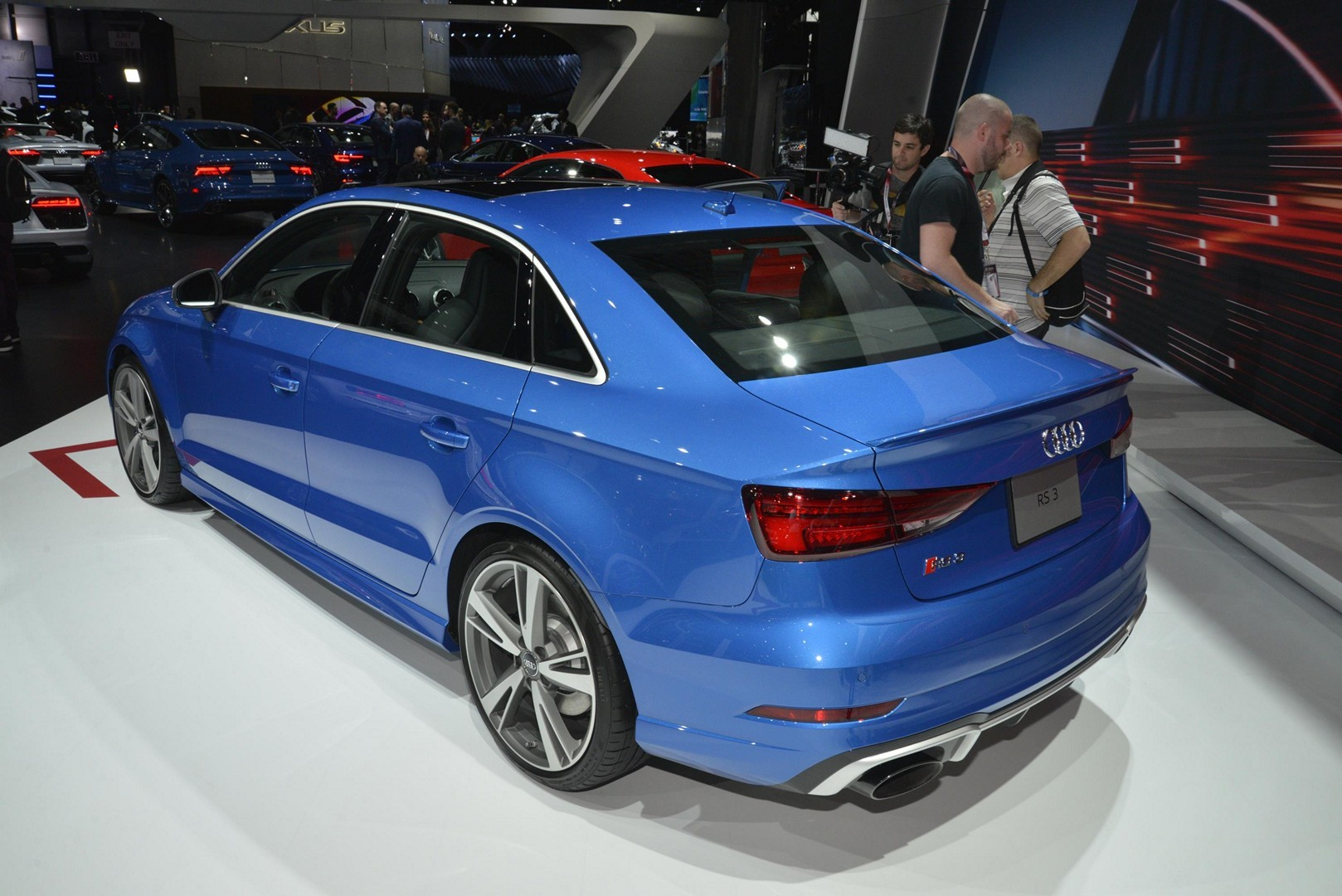 Rs3 Sedan Rs5 And Tt Rs Mark U S Debut Of Audi Sport In