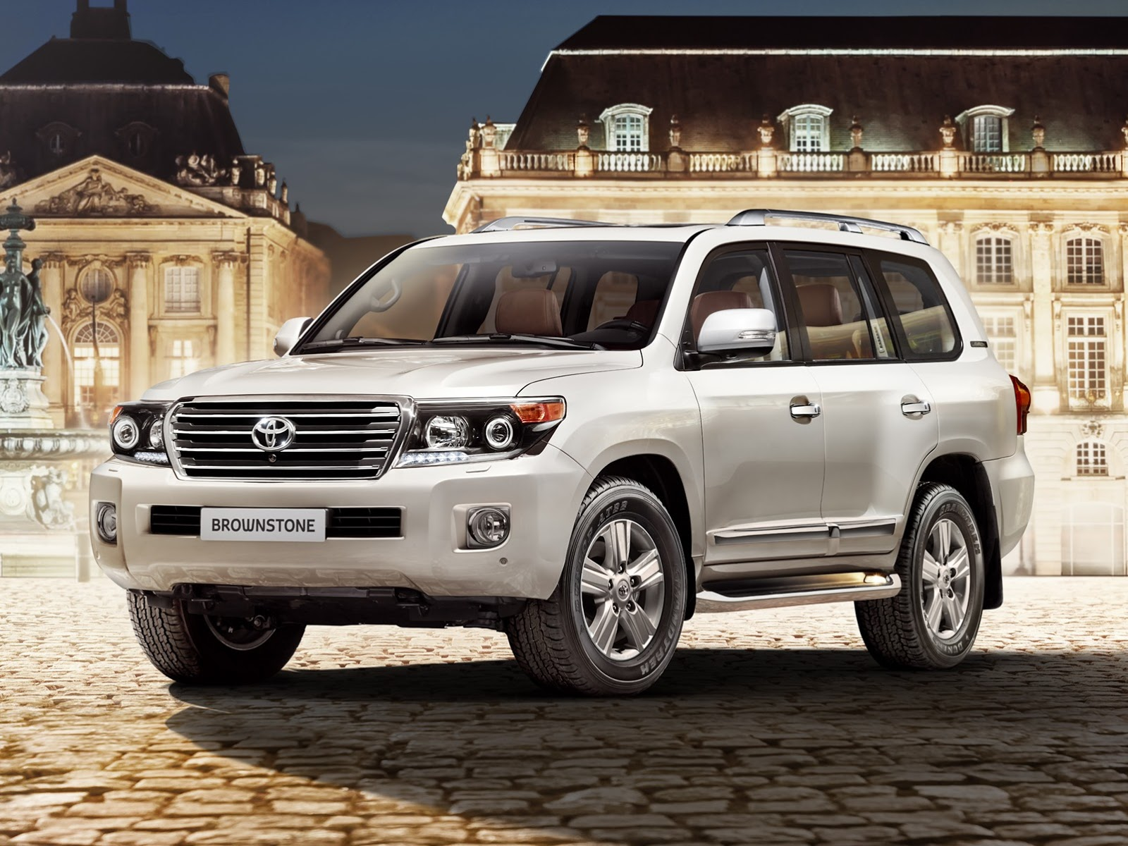 russia gets exclusive toyota land cruiser 200 brownstone edition