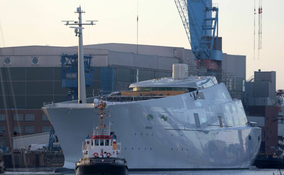 Russian Billionaire Upgrades From 300 Million Yacht To A New 450 Million Vessel Autoevolution