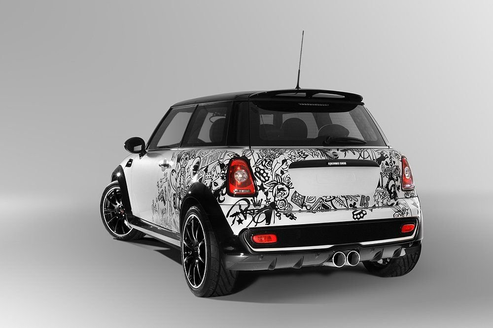 Russian Flavored Mini Cooper S Hits The News Autoevolution