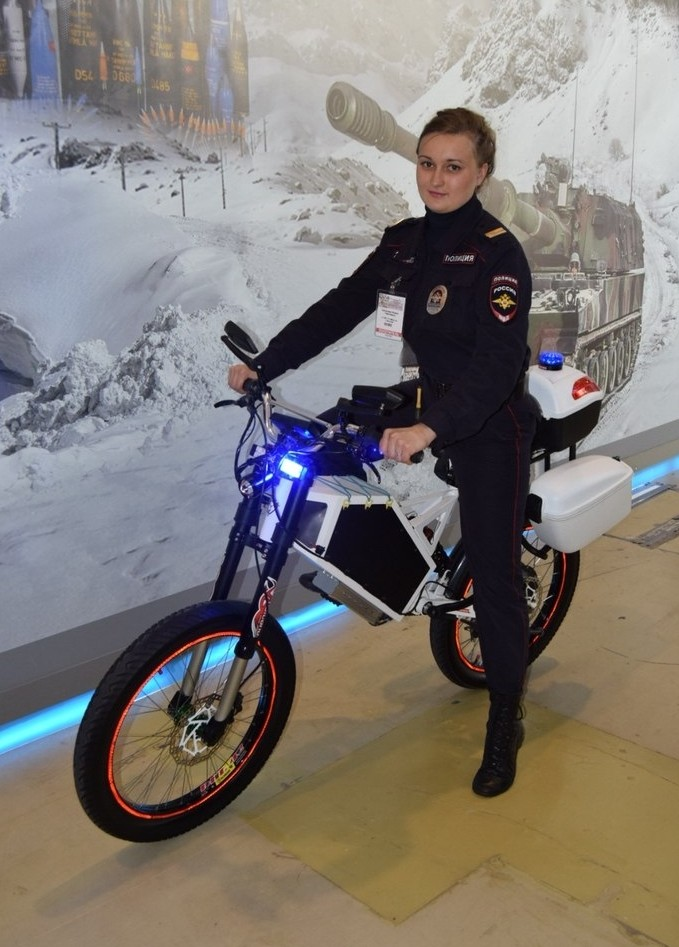 Russian Military Spec Electric Bikes Claim 320 Km Range