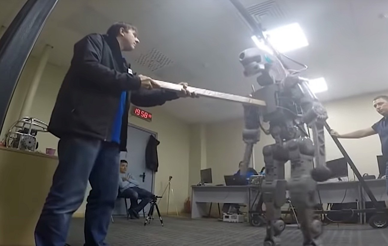 Earth to FEDOR: Russia launches humanoid robot into space