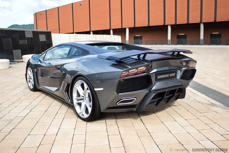 Nice ... Russian Tuned Lamborghini Gallardo Impersonates The Aventador ... Photo Gallery