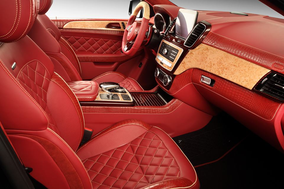 russian tuned mercedes benz gle coupe is a red crocodile leather statement autoevolution. Black Bedroom Furniture Sets. Home Design Ideas