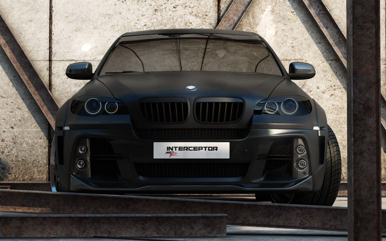 Russian Tuner Met R Unleashes The Bmw X6 Interceptor