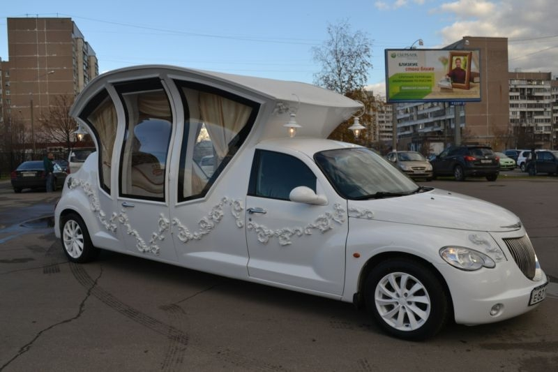 Russians Turn Pt Cruiser Into Awesome Wedding Car Video