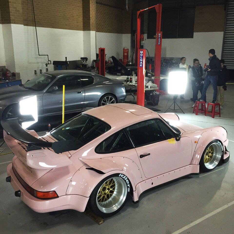 2016 Porsche Panamera Gts >> RWB Building a Porsche 911 Tribute to 917/20 Pink Pig ...