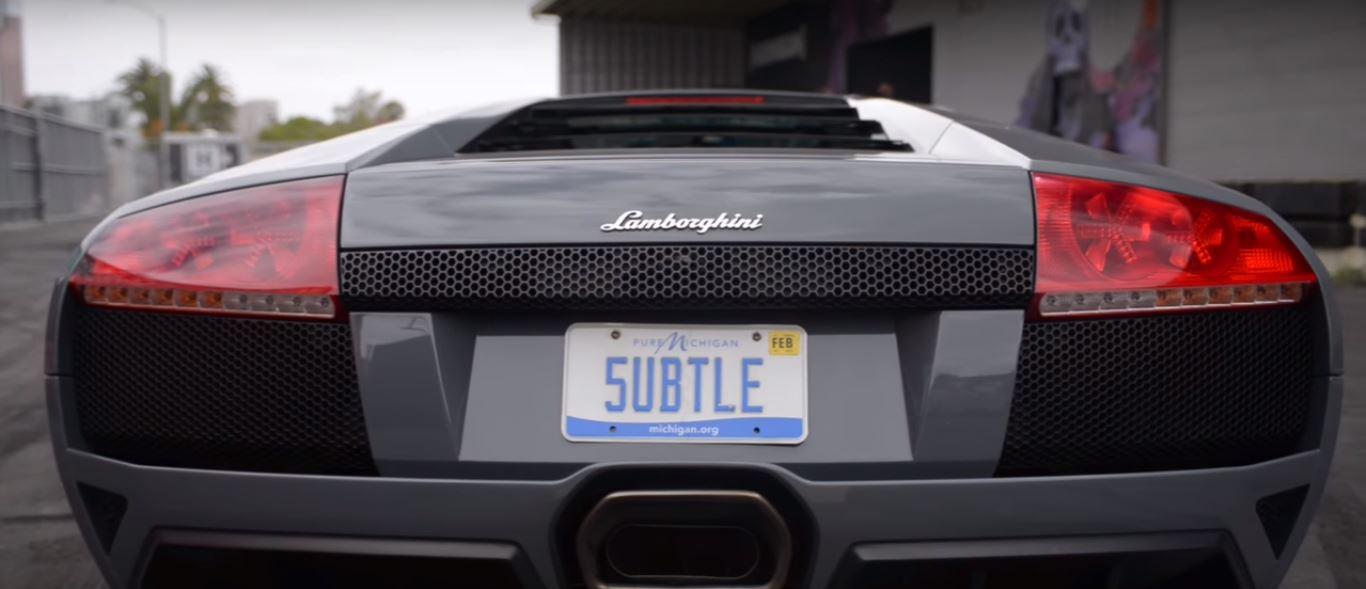 ... RWD Lamborghini Murcielago Drag Races Electric Smart Car