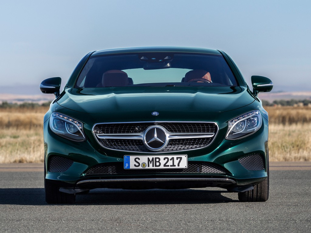 2019 Mercedes Benz S Class Coupe Facelift Spotted In Traffic