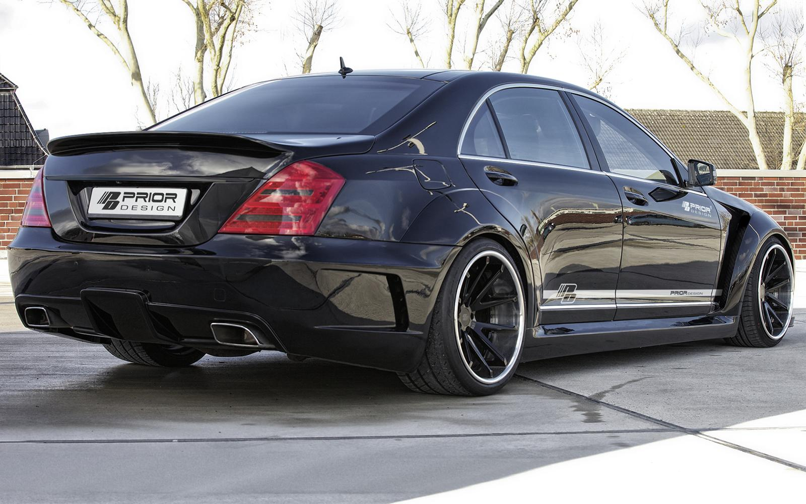 S Class W221 Gets Vip Style Tuning From Prior Design