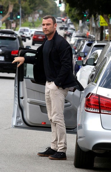 X Men S Sabretooth Liev Schreiber Rocks A Mercedes Benz