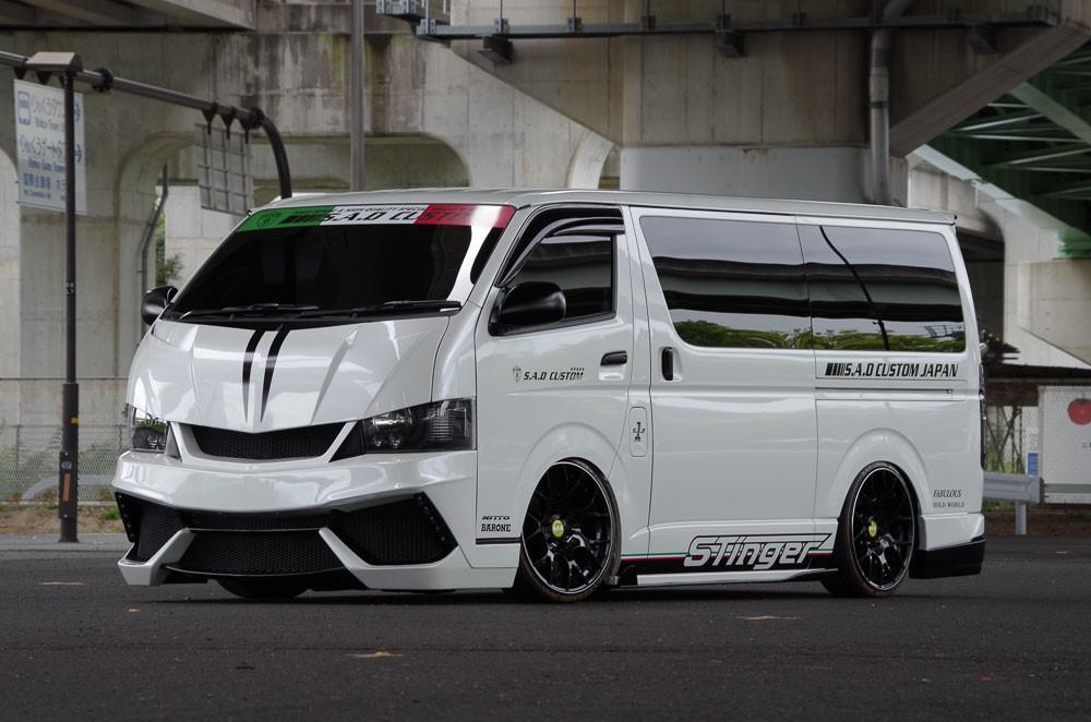 S A D Custom Japan Stinger 200hiace Is A Lamborghini