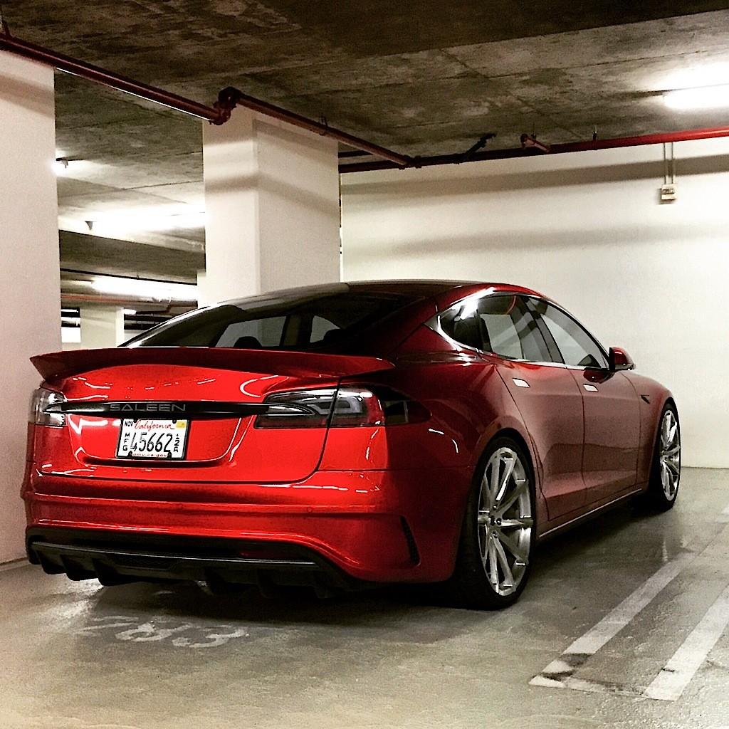 Saleen Mustang Prototype Spied In Parking Garage