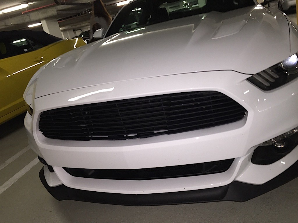 Saleen Mustang Prototype Spied In Parking Garage