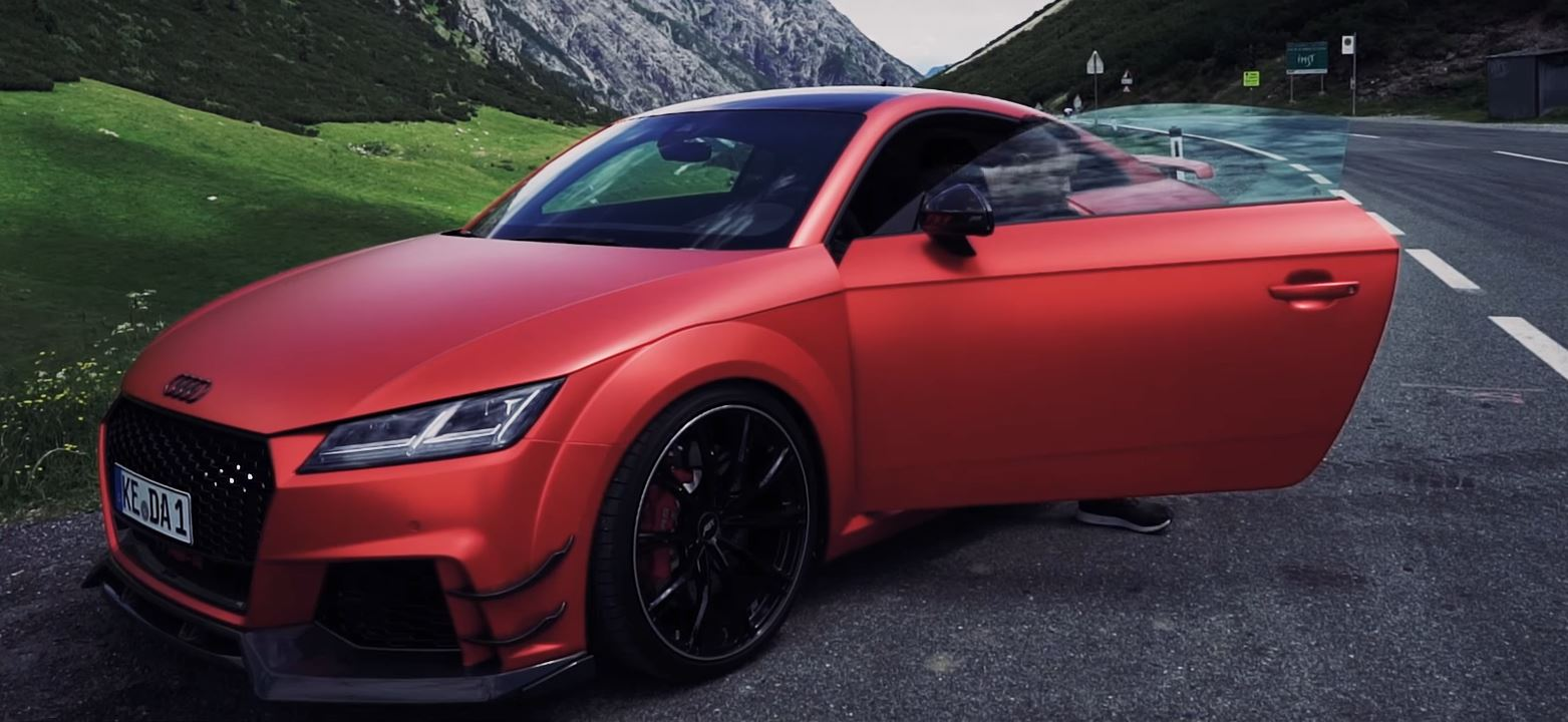 Sample ABT's 500 HP Audi TT RS-R in Satin Metallic Red - autoevolution